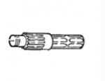 U-9622244 SHAFT