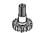 U-E127018 PINION GEAR